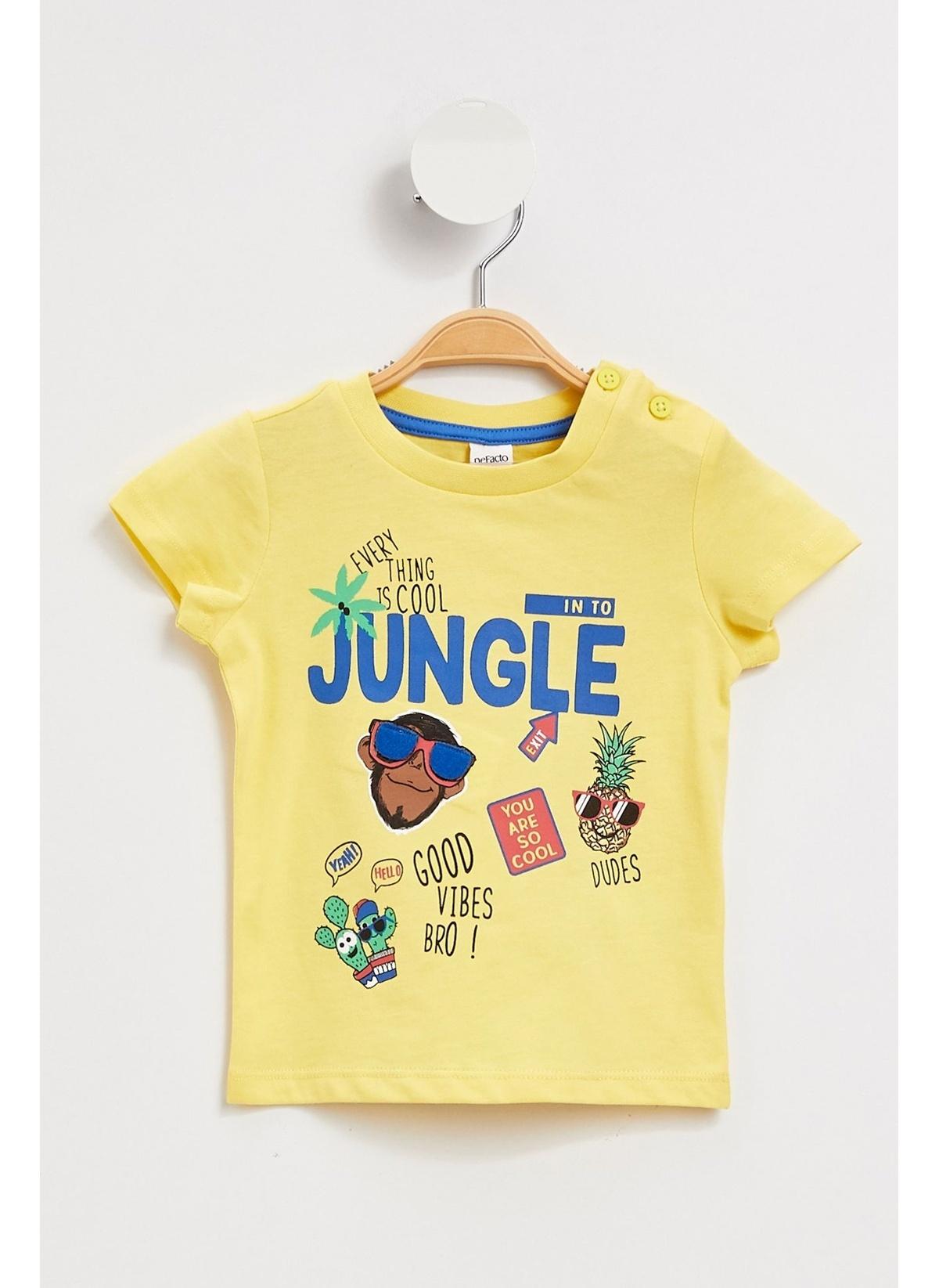 Defacto Tişört K6082a219smyl66 Baskılı T-shirt – 24.99 TL
